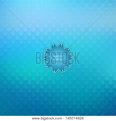 Abstract geometrical background. Colorful decorative backdrop. Graphic decoration. Vector illustration.