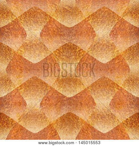 Abstract decorative paneling - seamless background - Carpathian Elm wood texture