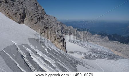 Beautiful Nature At Hoher Dachstein In Austria