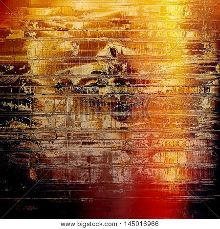 Abstract colorful background or backdrop with grunge texture and different color patterns: red (orange); yellow (beige); brown; black; pink