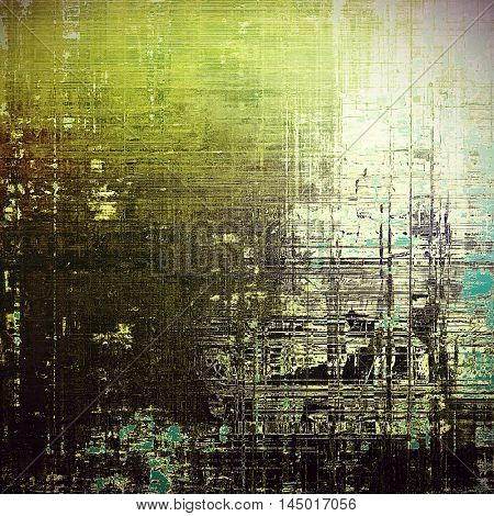 Old crumpled grunge background or ancient texture. With different color patterns: gray; green; blue; brown; white; black