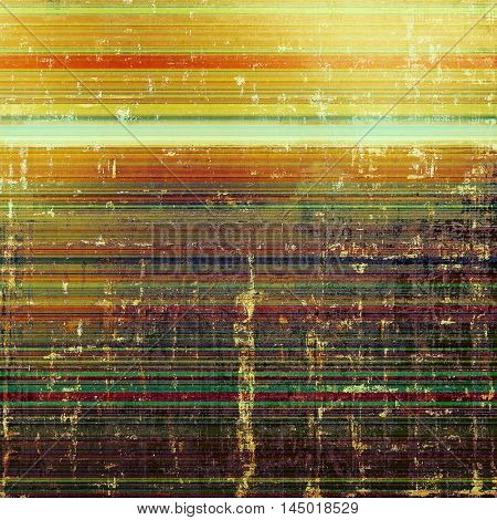 Grunge texture, scratched surface or vintage background. With different color patterns: green; red (orange); yellow (beige); brown; cyan; pink