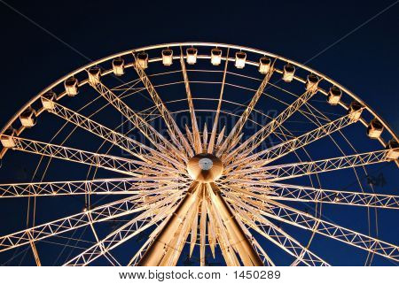 Farris Wheel In The Night