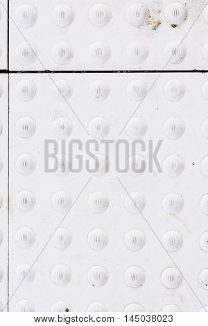 Bump Safety Train Station Platform Texture White