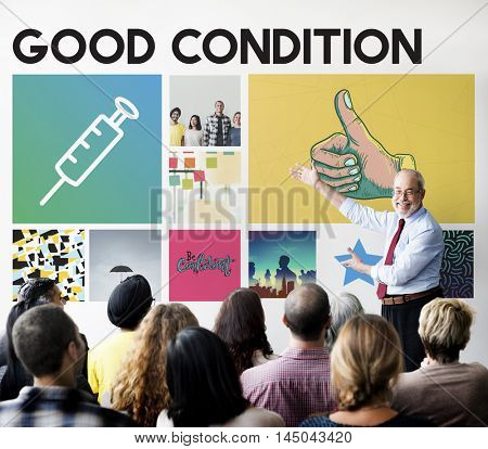 Syringe Injection Medication Healthcare Treatment Concept