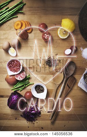 Cardiac Cardiovascular Disease Heart Graphic Concept