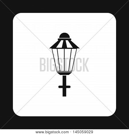 Light icon in simple style on a white background