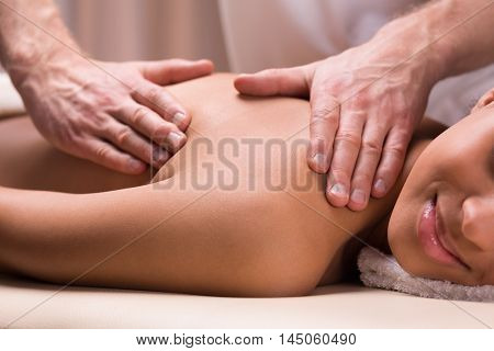 Deep Relief For Her Painful Back Muscles