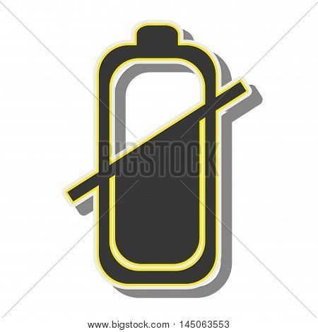 battery power energy charge level bar sign vector illustration