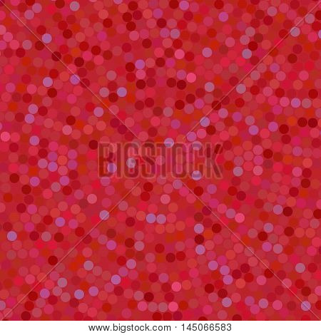 Simple Background Consisting Of Small Dark Red Circles, Vector Illustration