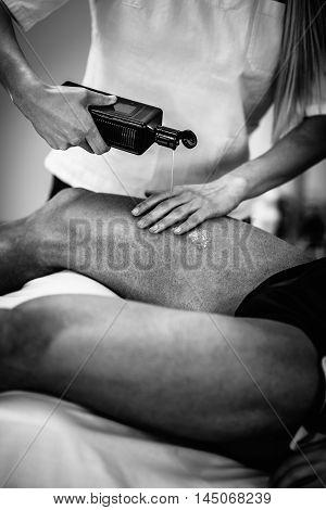 Sports Massage - Massaging Legs