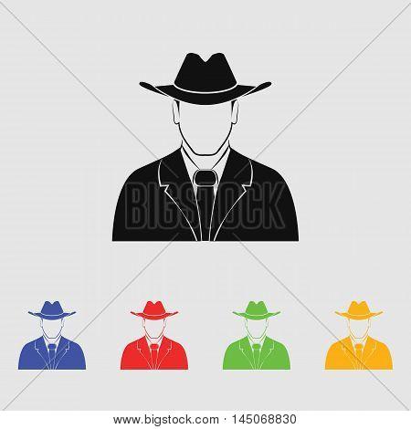 Mafia  Vector Icon for web and mobile