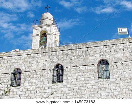 Mar Elias Greek-Orthodox monastery in Jerusalem Israel