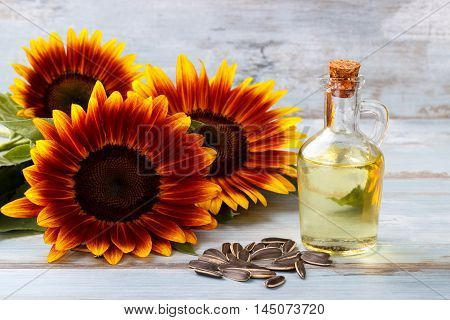 Sunflower Oil With Seeds