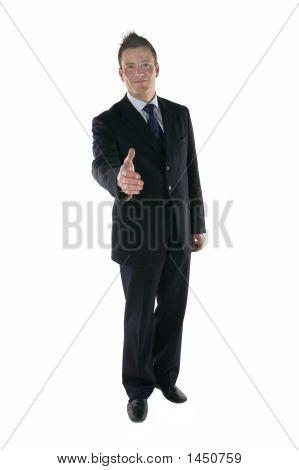 Karl Handshake Gesture