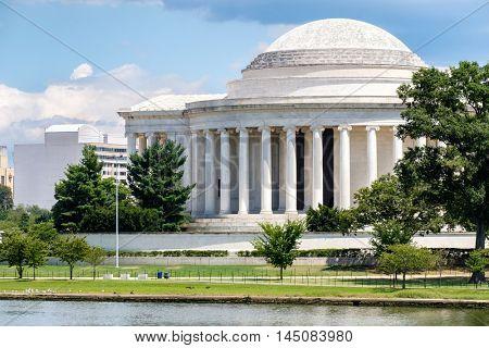The Jefferson Memorial in Washington D.C.