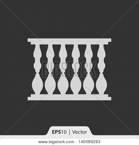 Baluster Vector Icon For Web And Mobile