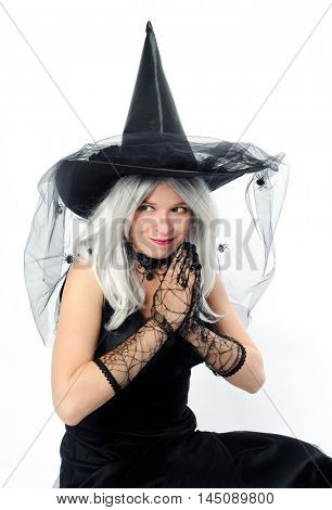 attractive young witch