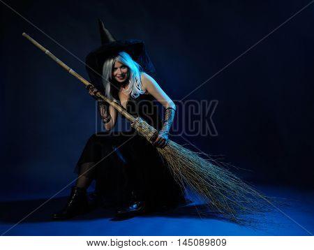 dark witch portrait