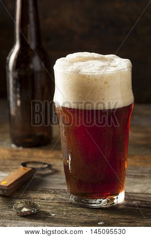 Refreshing Brown Ale Beer