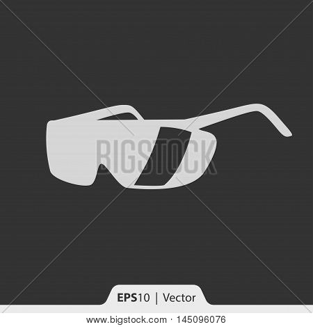 Safety Glasses Vector Icon For Web And Mobile