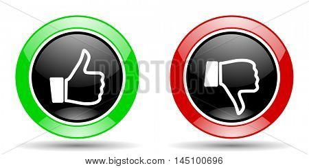 like dislike vector icon