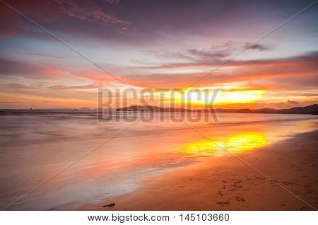 Sunset, Thailand, Asia