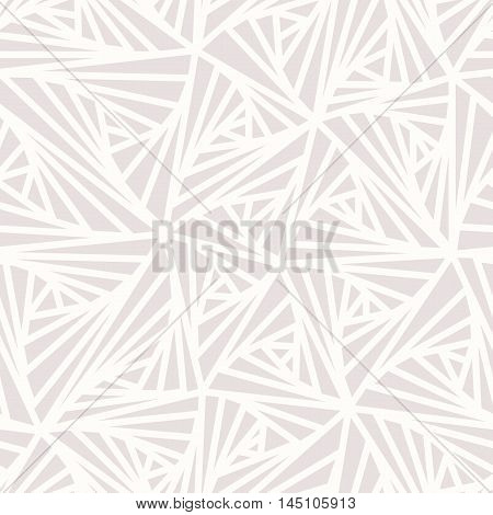 Abstract Geometric Light Vector Pattern. Modern seamless sample pattern. Light line abstract background