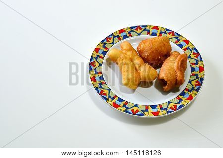 Deep Fried Dough Stick (Pa Tong Go) Thailand Breakfast