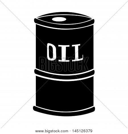 barrel oil gasoline production design vector illustration eps 10