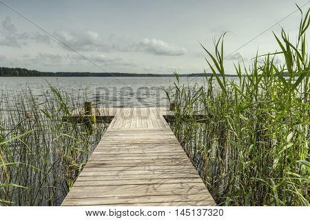 Bridge Near The Lake