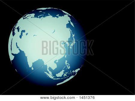 Asia ( Vector )