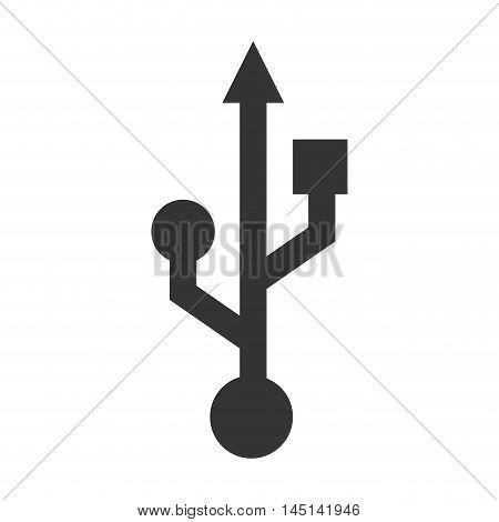 symbol usb connected backup design vector illustration eps 10