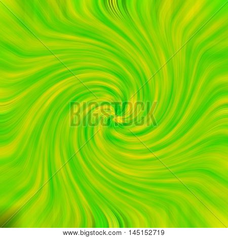 an images of Green-orange background light twirl effect