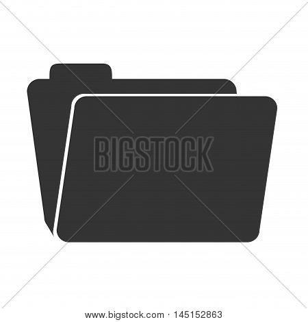 folder files archive isolated vector illustration eps 10