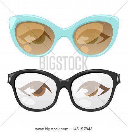 Reading glasses human eye eyesight equipment.
