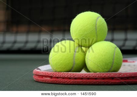 Tennis Ball Pyramid