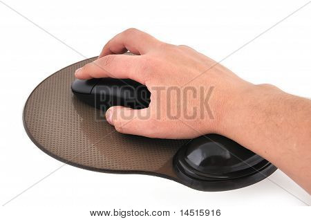 Wireless Mouse And Mause Pad
