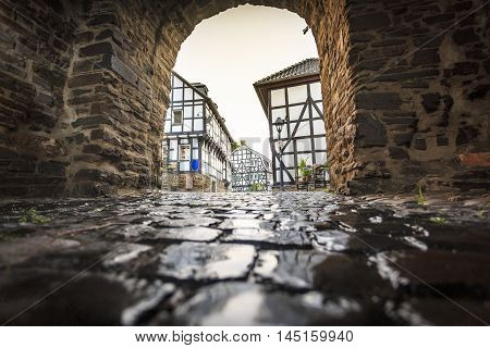Traditional Architecture At Historic Blankenberg, Germany
