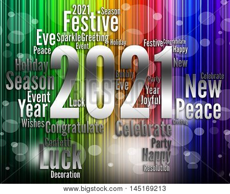 Twenty Twenty One Shows 2021 New Year Celebrating