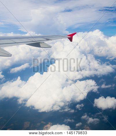 Heavenly Scene Wing over Lands