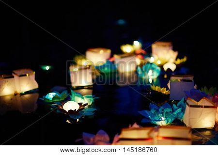 Paper lantern holiday
