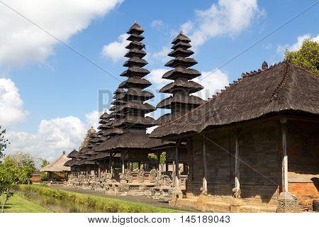 Bali, Indonesia - July 02, 2015: Photograph of the hindu temple Pura Taman Ayun