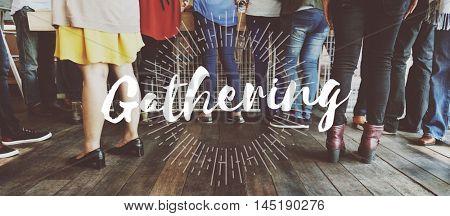 Get Together Gathering Support Teamwork Concept
