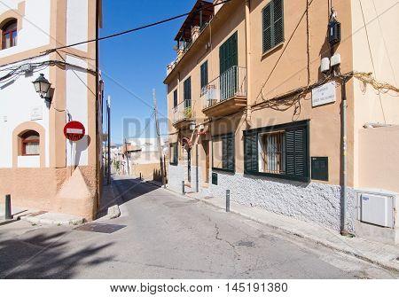Street View In El Terreno