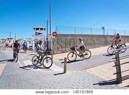 Portixol Seaside Biking Route