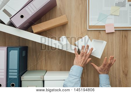 Crashing Shelf In The Office