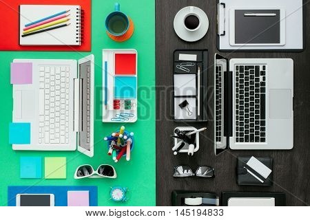 Customized Office Workspace