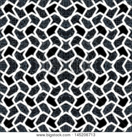 Interlace Oriental Style Pattern
