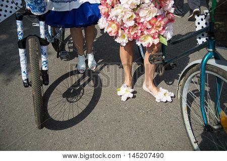 Shoes ladies velofestival to Moscow Summer 2016